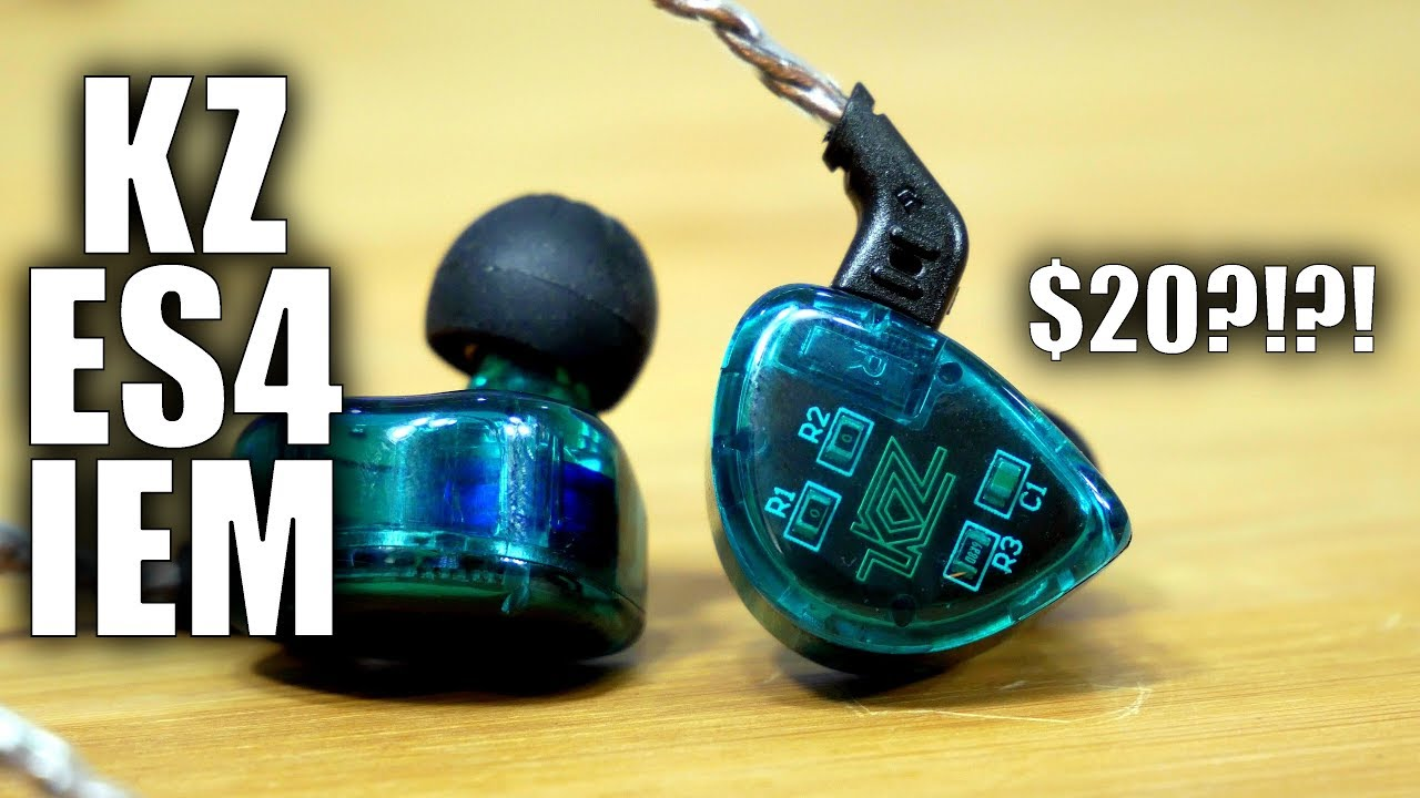 KZ ES4 Dual Driver IEMs Review: Earbuds sound way better than $20