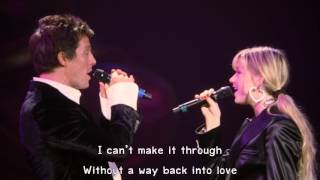 Hugh Grant & Harley Bennett - Way Back Into Love (Lyrics) 1080pHD