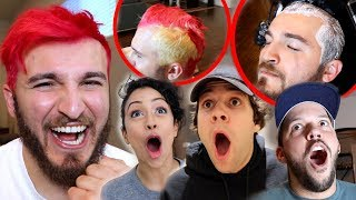 DYING MY HAIR PINK Video