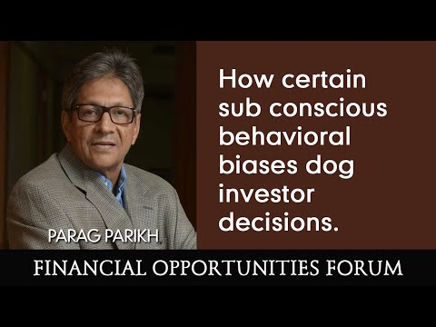 How certain sub conscious behavioral biases dog investor decisions.