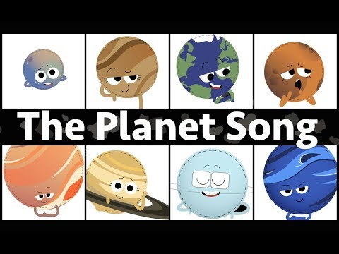 The Planets of our Solar System Song (featuring The Hoover Jam)