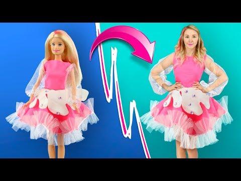 Гигантский антистресс костюм / Как стать Барби
