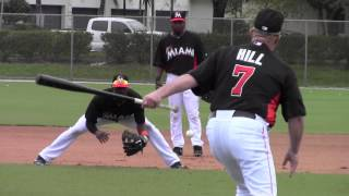 Marlins-1st full squad of Spring Training 2013