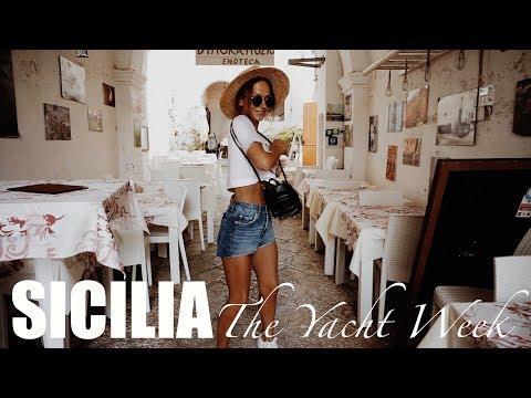 UNA SETTIMANA SULLO YACHT PER LA SICILIA - VLOG Puglia