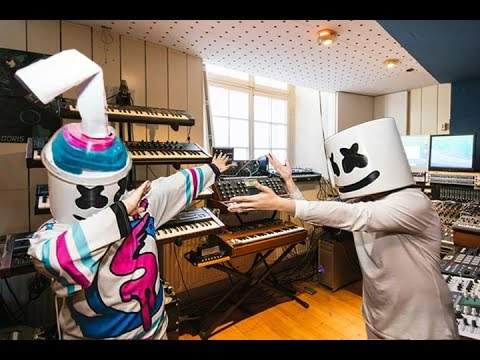 "Making New Marshmello X Slushii Collab ""Twinbow"""