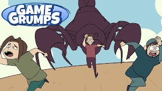 Game Grumps Animated - Fighting the Scorpion - by TheUnseriousguy