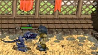 Monster Seed - battle [PSX]