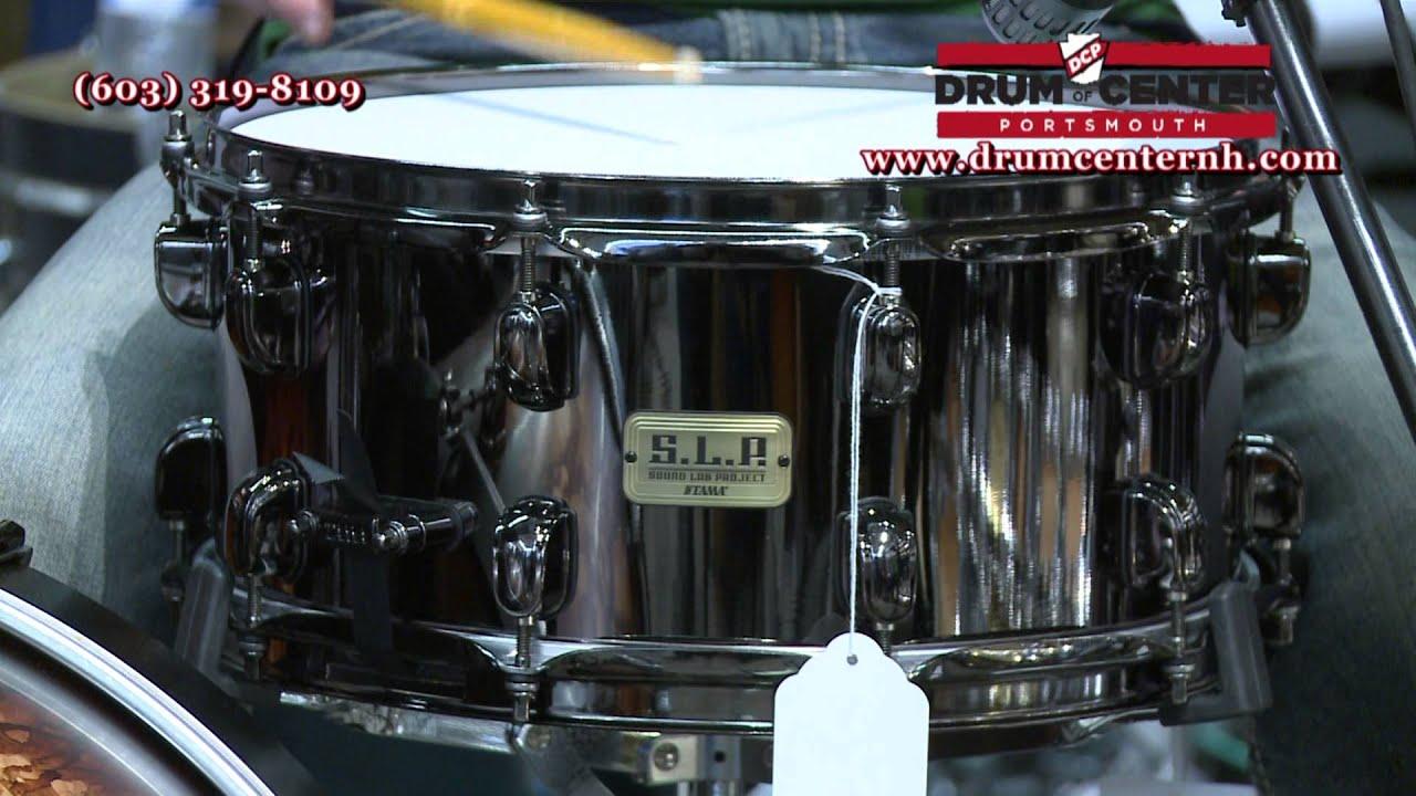 tama slp series black brass snare drum youtube. Black Bedroom Furniture Sets. Home Design Ideas