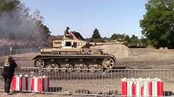Stahl auf der Heide 2018  Panzer IV, Mond und Live Cam Drohne