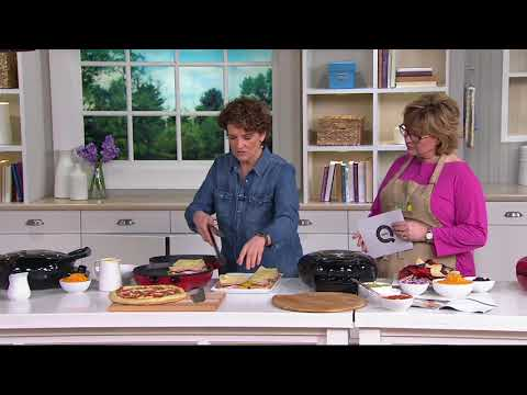 Cook's Essentials Dual Skillet w/ Temperature Control on QVC Mp3