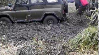 УАЗ 469 или как утопить по пьяне машину на рыбалке. ч.2(, 2016-01-11T11:38:55.000Z)