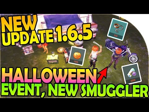 NEW UPDATE 1.6.5 - NEW HALLOWEEN EVENT + NEW SMUGGLER CAMP - Last Day On Earth Survival 1.6.5 Update