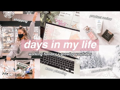 what being a growing youtuber living abroad is like... (vlogmas days 18-19)