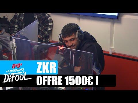 Youtube: Zkr offre 1500€ à un auditeur! #MorningDeDifool