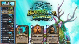 Witchwood RECRUIT Druid - Hearthstone