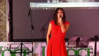 Martina Malagnino canta  a la Festa La Voce di Manduria 2018 -