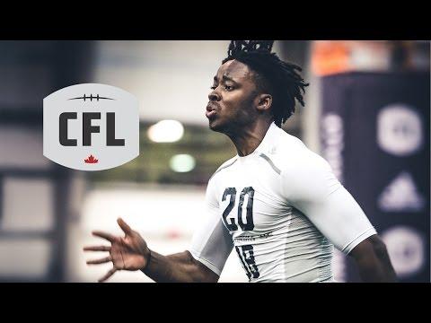 CFL Combine 2017: 40 Yard Dash Full Livestream