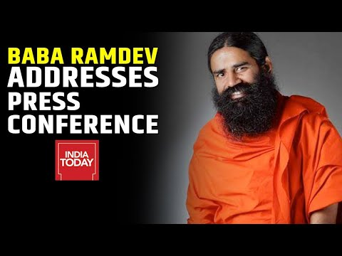 Baba Ramdev Addresses Press Conference, Claims Of Launching Medicine | India Today