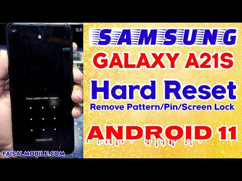 How To Hard Reset Samsung Galaxy A21s Android 11 || Fix Hard Reset Not Working