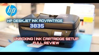 HP DeskJet Ink Advantage All-in-One Printer 3835 - Unboxing | Installation | Full Review