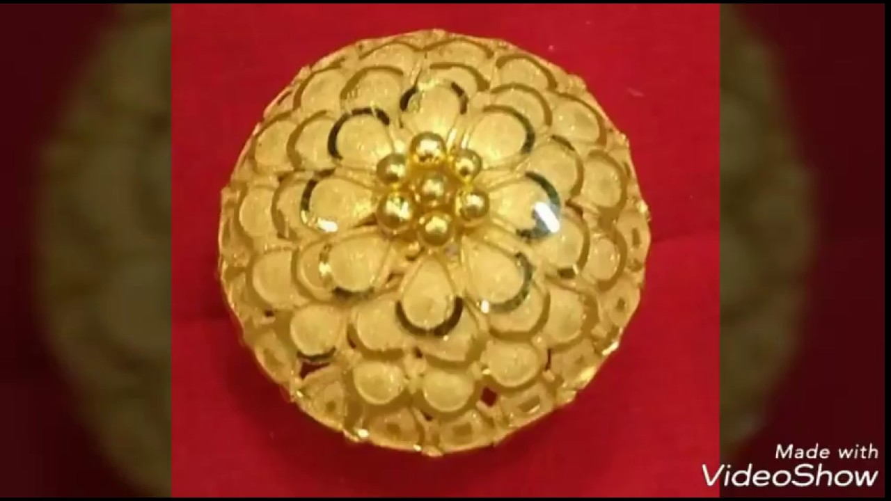 Finger Rings Designs In Pure Gold - YouTube