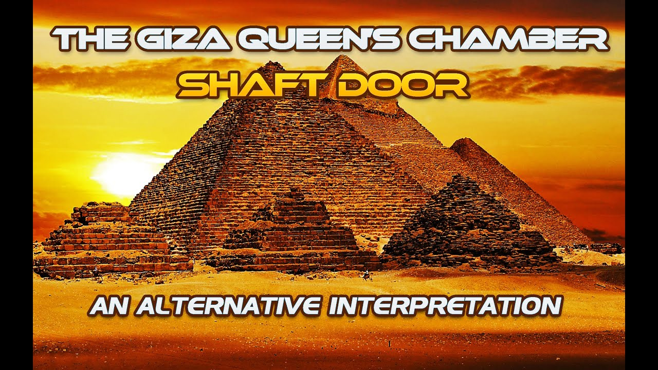 The Giza Queen's Chamber Shaft Door - The Gantenbrink Door -  An Alternative Interpretation.