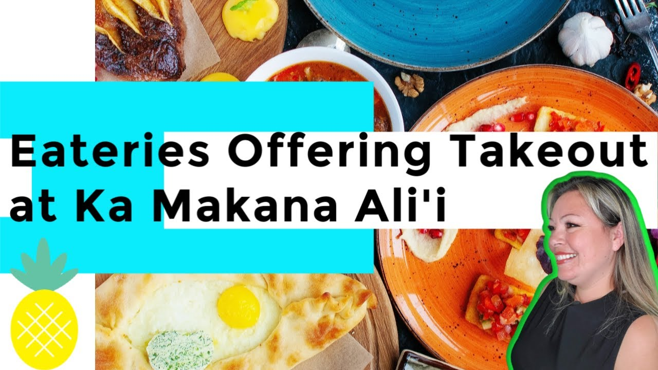 Eateries Offering Takeout at Ka Makana Ali'i | Kapolei, Hawaii