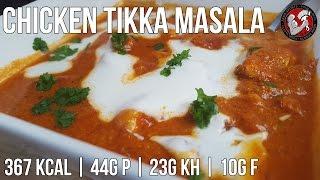 Chicken Tikka Masala   Low Carb Hähnchengericht   Indische Küche