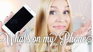 WHAT'S ON MY PHONE - TAG ♡ UPDATE ♡ | Dagi Bee