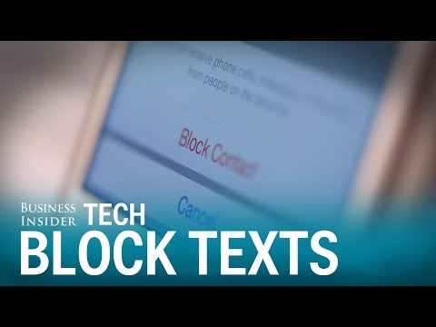 Block & Mute Texts On The iPhone