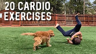 Power Yoga Cardio Challenge - 20 Weight Loss Exercises