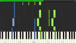 Nat King Cole - Mona Lisa - Piano Backing Track Tutorials - Karaoke