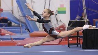 Whitney Level 4 Gymnastics Floor Routine 9 35 Apple Classic 2013