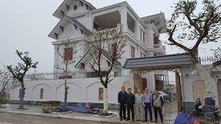 Thăm Quan MẪU BIỆT THỰ ĐẸP NHƯ MƠ với màu sơn nổi bật tại Ninh Bình