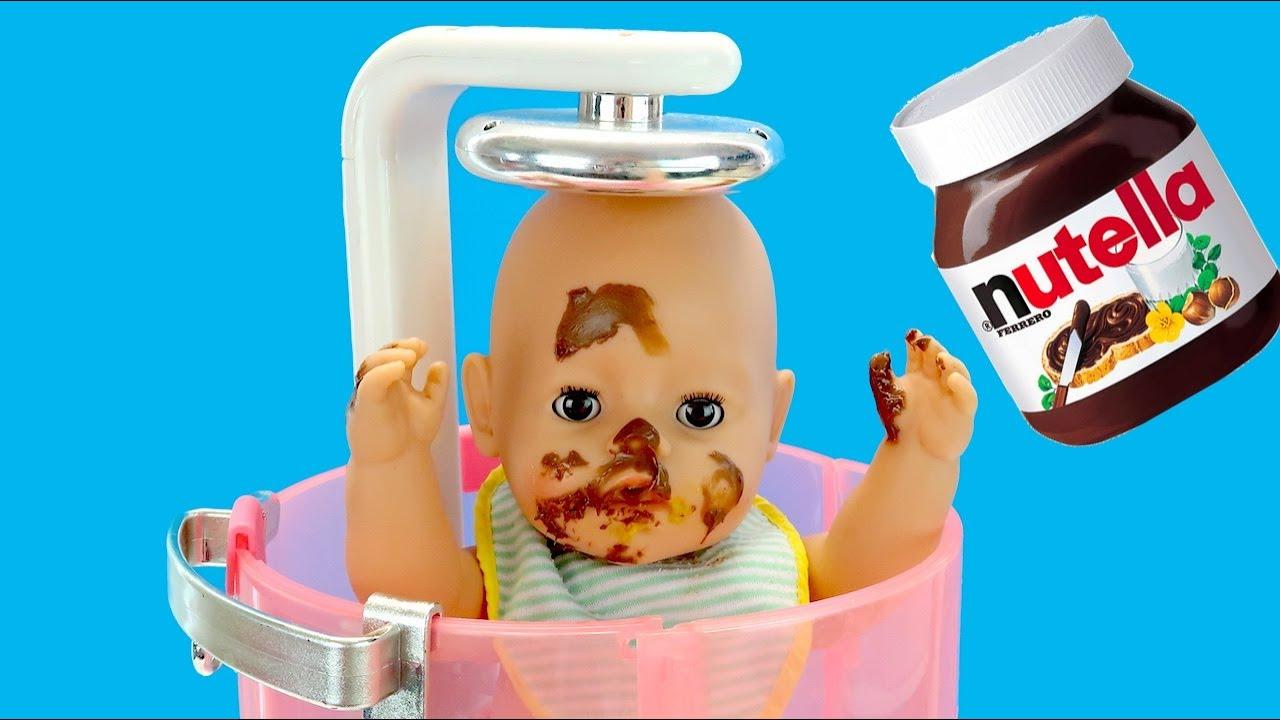 И ТАК СОЙДЕТ! Беби Бон Миша Не Хочет Мыться Мультики Как Мама Играла в Куклы Пупсики 108мама тв
