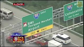 Baltimore High Speed Police Pursuit