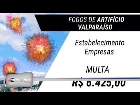 Prefeitura de Valparaíso aprovou uma lei que proíbe fogos de artifício barulhentos na cidade