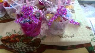 DIY: Enfeite mesa de convidados REALEZA Festa Infantil*