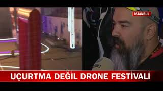 Kanal D Ana Haber - Üsküdar Drone Festivali Haberi
