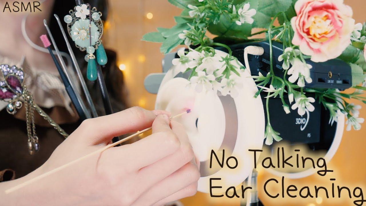 ASMR 귀 잘판다고 소문난 귀청소 장인의 귀파는 소리 맛집(No Talking)| The World's Greatest Ear Cleaning |비녀,나무귀이개,핀셋,면봉,치과