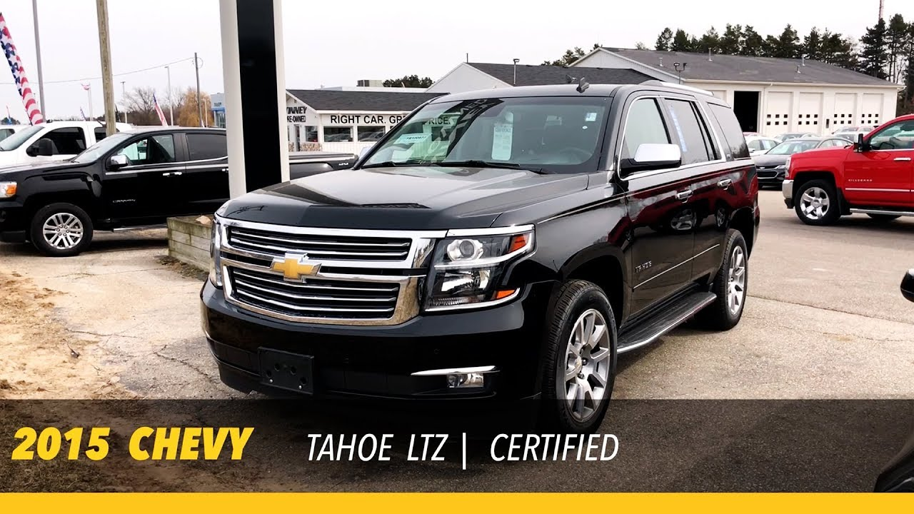 Used Chevy Tahoe >> Used 2015 Chevy Tahoe Ltz Walk Around Tinney Automotive