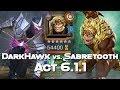 DarkHawk Vs. Sabretooth - Act 6.1.1 - Marvel Contest Of Champions