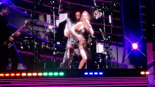 Spice Girls band play their solo songs and Adele (who was in the crowd) - Wembley Stadium Live