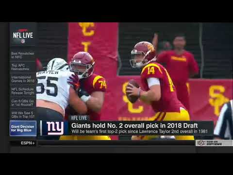NFL Live(April 19, 2018) Analysts break down the latest news in the NFL...
