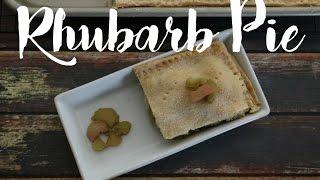 Rhubarb Pie Recipe