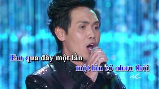 Đan Huy - Trả Lại Nhân Gian Một Kiếp Người (Karaoke)