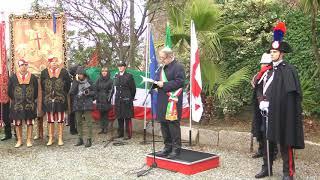 74° Anniversario dell'eccidio al Forte di San Martino - Genova - 15 gennaio 2018