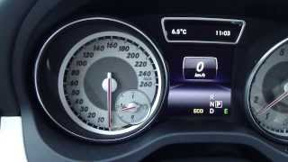 Test drive new Mercedes Benz CLA.  Years 2013 to 2019