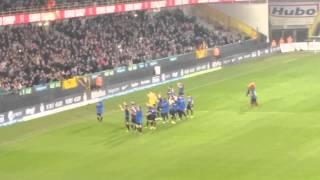 Play Off Match 1: Club Brugge - Lokeren  (5-1)