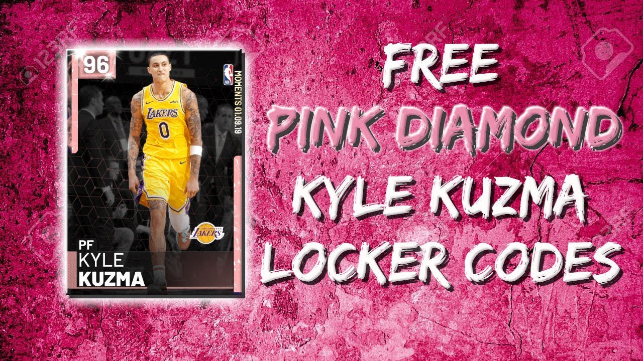 Pink Diamond Kyle Kuzma Locker Codes Nba 2k19 Myteam Youtube